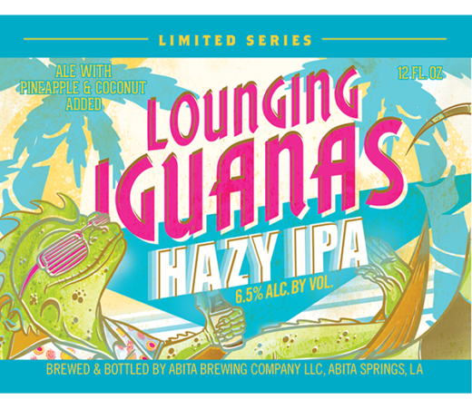 ABITA SELECT LOUNGING IGUANAS