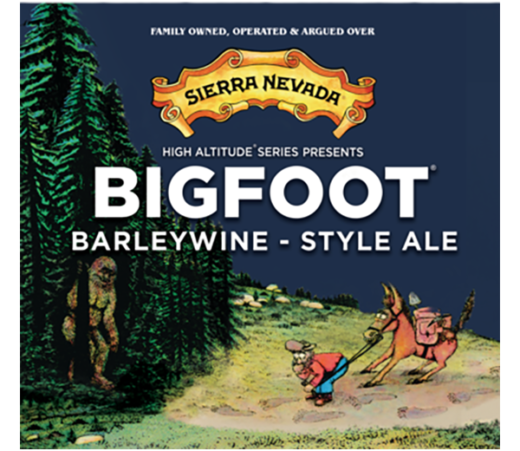 SIERRA NEVADA BIGFOOT BARLEYWINE ALE