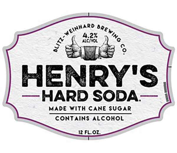 HENRY'S HARD SODA ORANGE