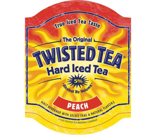 TWISTED TEA PEACH HARD ICED TEA