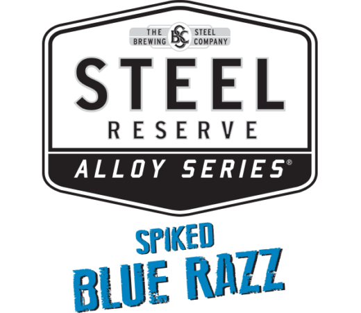 STEEL RESERVE SPIKED BLUE RAZZ