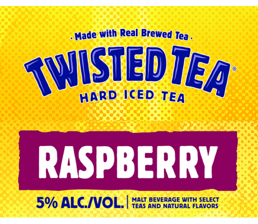 TWISTED TEA RASPBERRY HARD ICED TEA