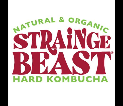 STRAINGE BEAST LEMON GINGER & HIBISCUS KOMBUCHA