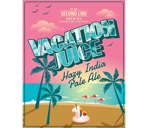 SECOND LINE VACATION JUICESECOND LINE VACATION JUICE