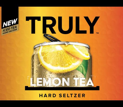 TRULY ICED TEA LEMON TEA