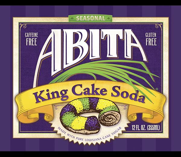 ABITA KING CAKE SODA