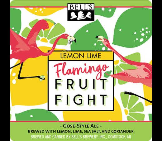 BELLS FLAMINGO FRUIT FIGHT LEMON LIME