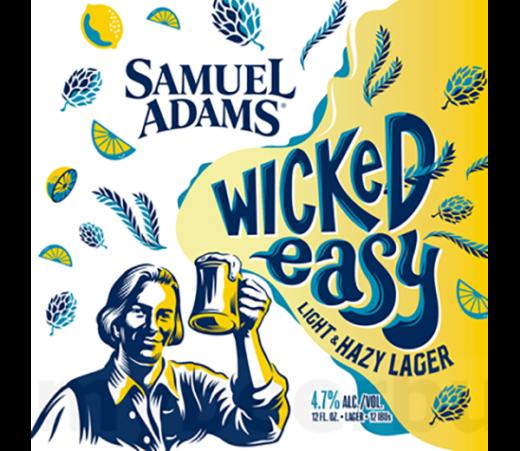 SAMUEL ADAMS WICKED EASY LAGER