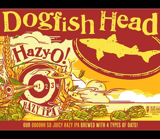DOGFISH HAZY-O IPA