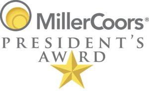 MillerCoors Presidents Award