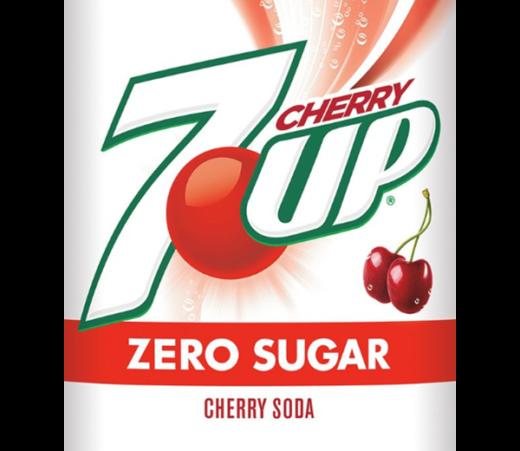 7UP CHERRY ZERO SUGAR