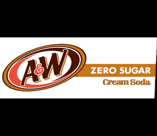 A&W CREAM SODA ZERO SUGAR