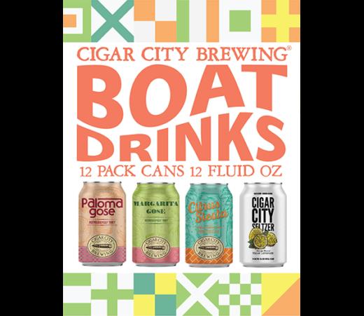 CIGAR CITY BOAT DRINK